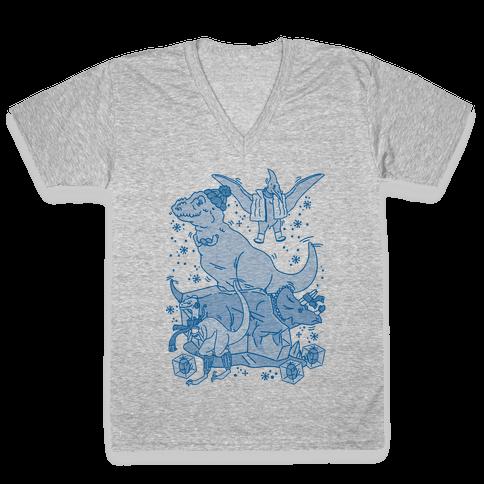 The Ice Age V-Neck Tee Shirt