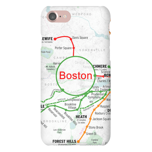 Boston Transit Map