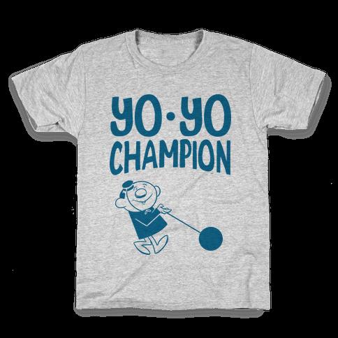 Yo-yo Champion Kids T-Shirt