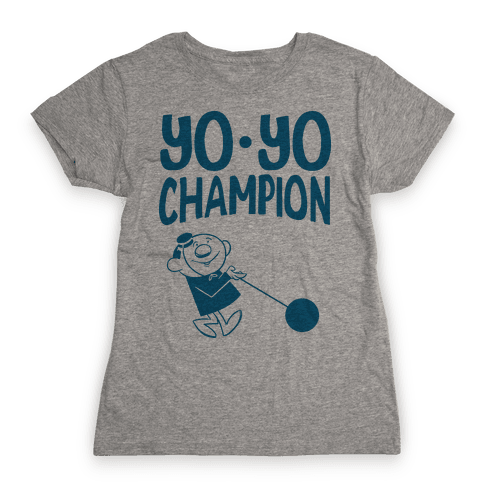 Yo-yo Champion Womens T-Shirt