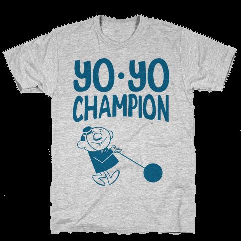 Yo-yo Champion Mens T-Shirt