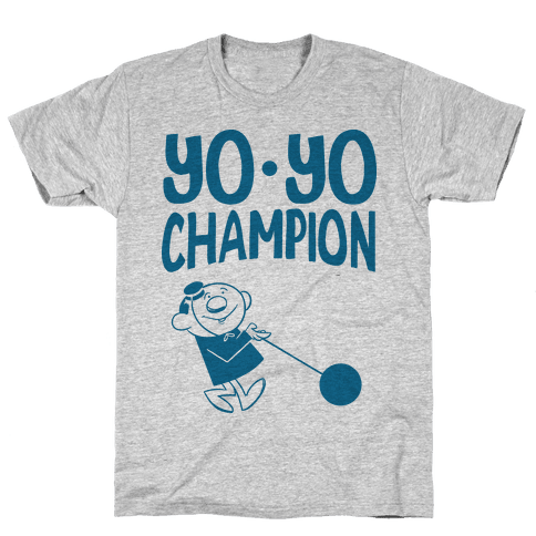 Yo-yo Champion Mens T-Shirt