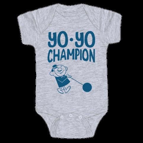 Yo-yo Champion Baby Onesy