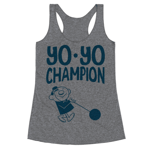 Yo-yo Champion Racerback Tank Top
