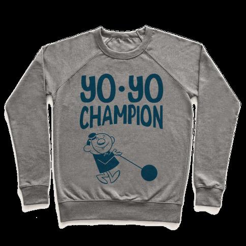 Yo-yo Champion Pullover