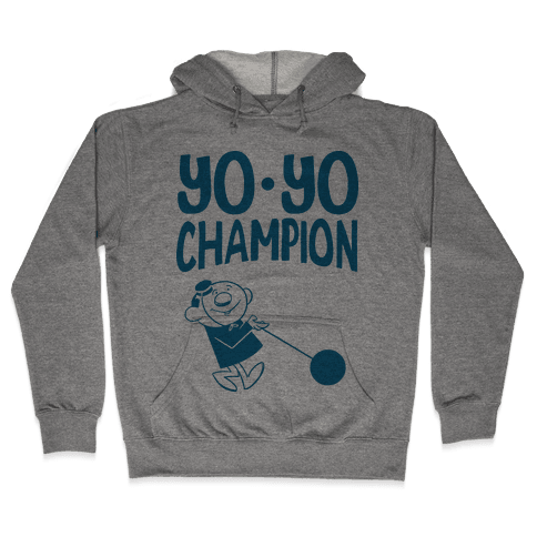 Yo-yo Champion Hooded Sweatshirt