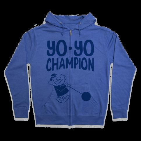 Yo-yo Champion Zip Hoodie