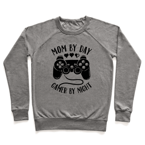 Mom By Day Gamer By Night Pullover