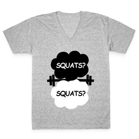 The Squats in Our Stars V-Neck Tee Shirt