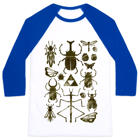 Golden Bug Collector Baseball Tee