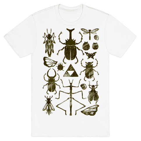 Golden Bug Collector Mens T-Shirt