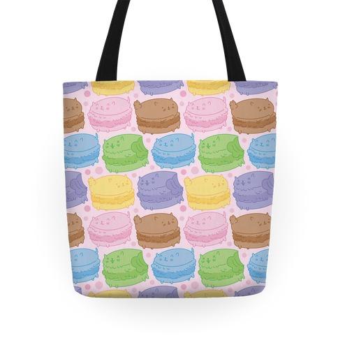 Cat Macarons Tote