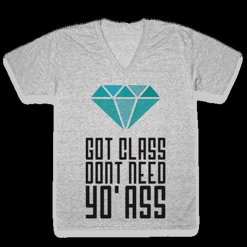 Got Class V-Neck Tee Shirt