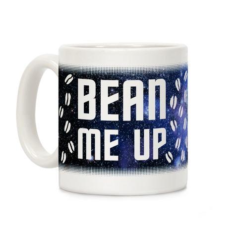 Bean Me Up Coffee Mug