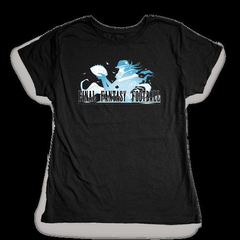 Final Fantasy Football Womens T-Shirt