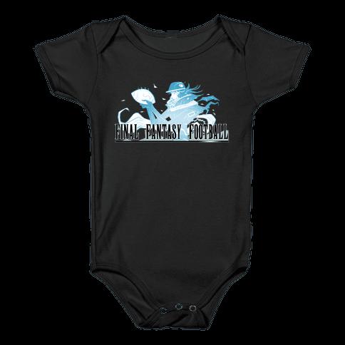 Final Fantasy Football Baby Onesy