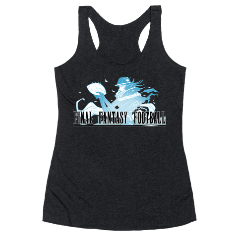 Final Fantasy Football Racerback Tank Top