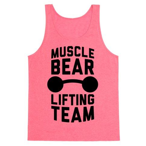 Musclebear Lifting Team Tank Top