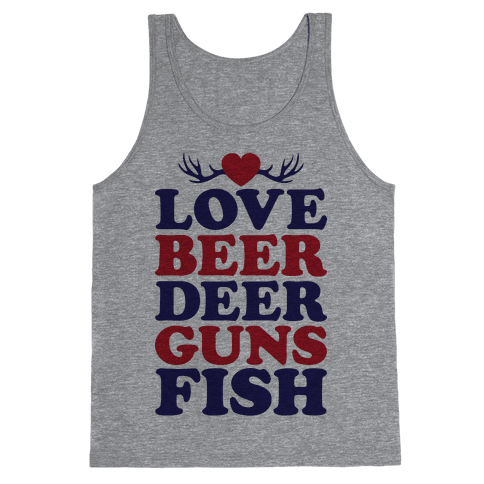 My Favorite Four-Letter Words Tank Top