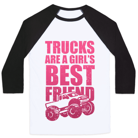 Trucks Are A Girl's Best Friend (Pink)