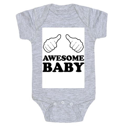 Awesome Baby Baby Onesy