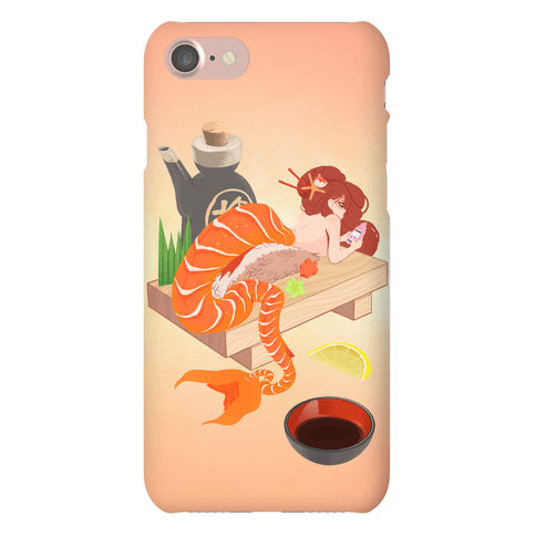 Mermaid Sushi Phone Case
