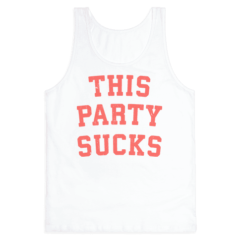This Party Sucks Tank Top