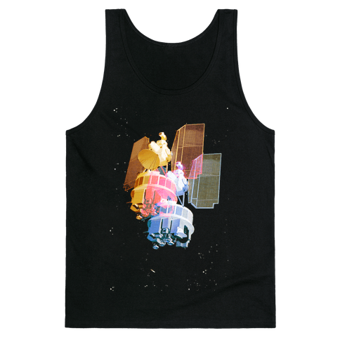 TriColor Space Satellite Tank Top