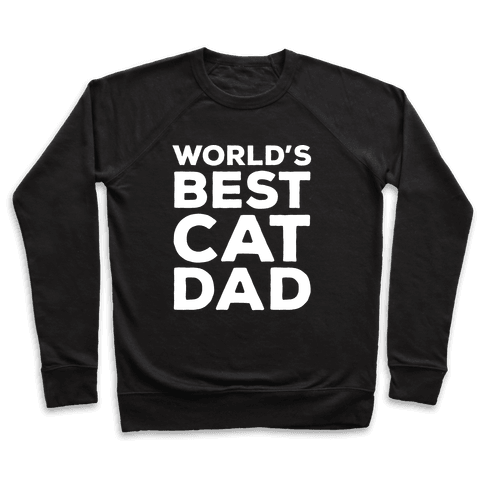 World's Best Cat Dad Pullover