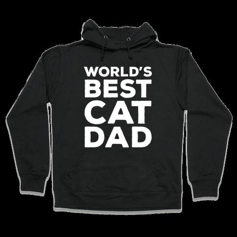 World's Best Cat Dad Hooded Sweatshirt