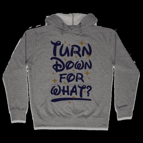 Turn Down For What? Hooded Sweatshirt