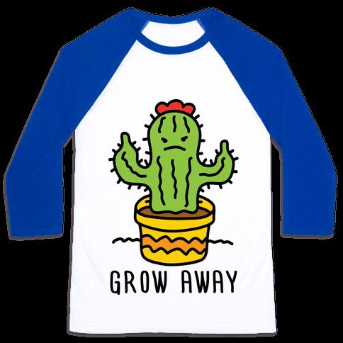Grow Away Cactus Baseball Tee