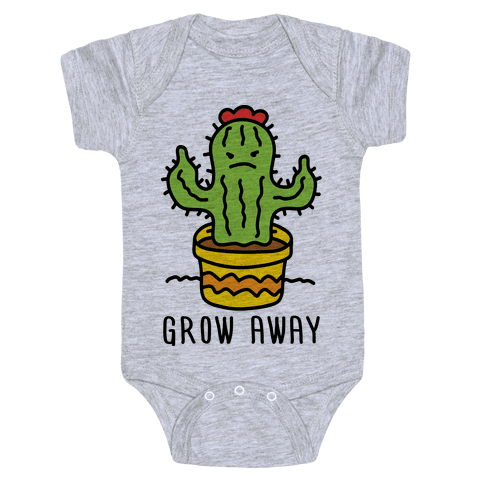 Grow Away Cactus Baby Onesy