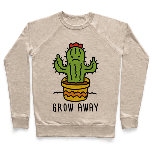 Grow Away Cactus Pullover