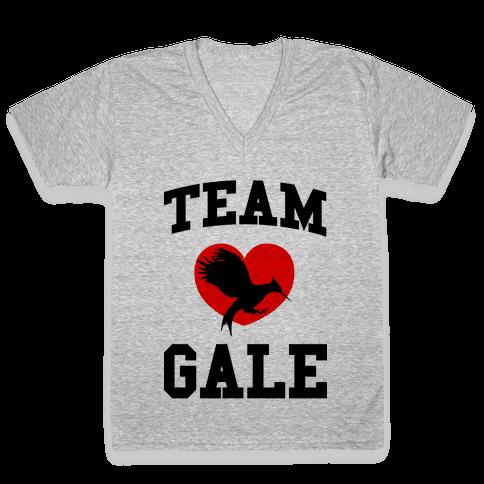Team Gale V-Neck Tee Shirt