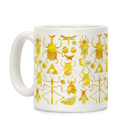 Golden Bug Collector Coffee Mug
