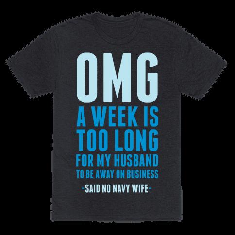 OMG Said No Navy Wife