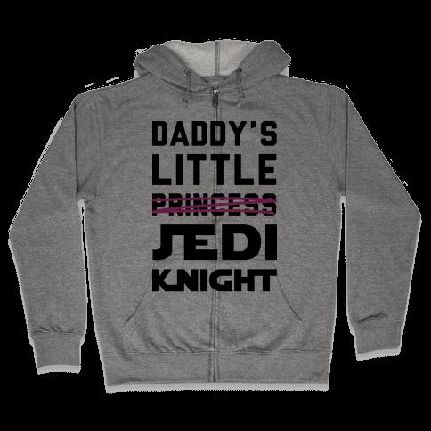 Daddy's Little Jedi Knight Zip Hoodie