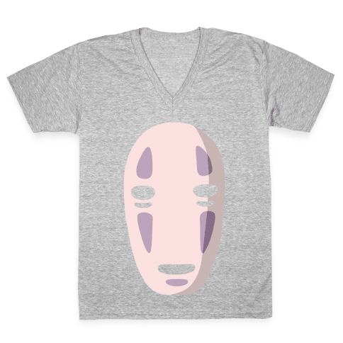 No Face V-Neck Tee Shirt