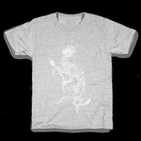 Deer God Stars Kids T-Shirt