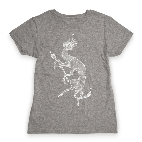 Deer God Stars Womens T-Shirt