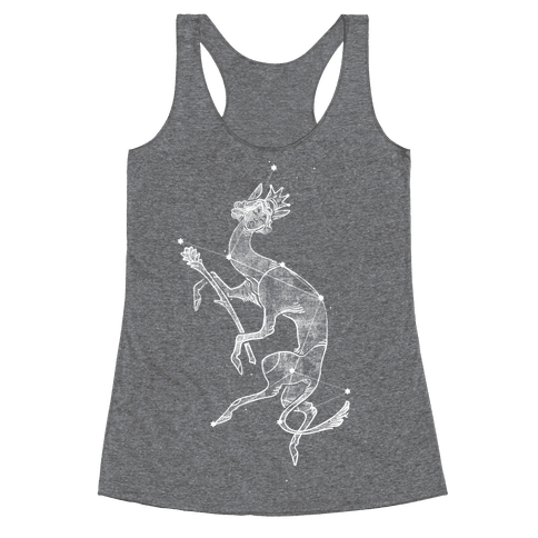 Deer God Stars Racerback Tank Top