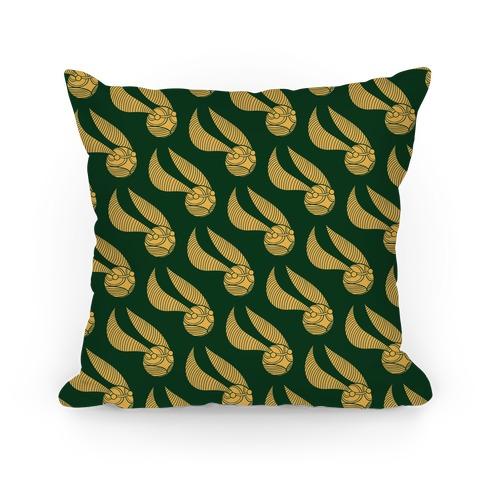 Snitch Pillow