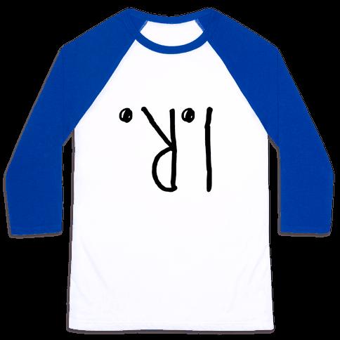 I R Wearing this shirt Baseball Tee
