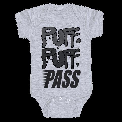 Puff Puff Pass Baby Onesy