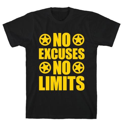 No Excuses No Limits T-Shirt