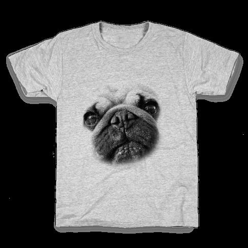 Pug Face Kids T-Shirt