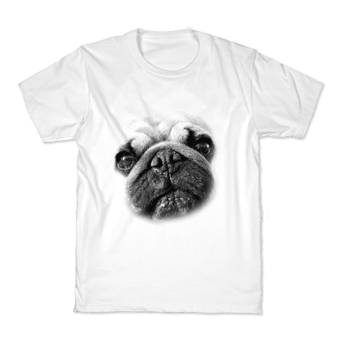 Pug Face Kids T-Shirt