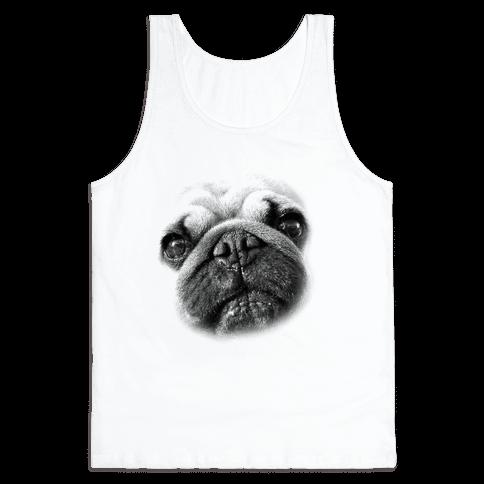 Pug Face Tank Top