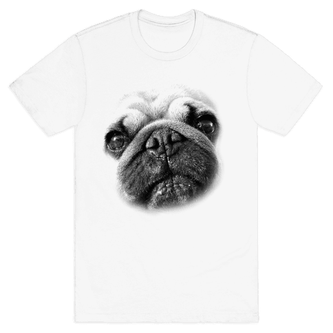 Pug Face Mens T-Shirt